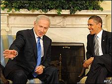 obama y netanyahu