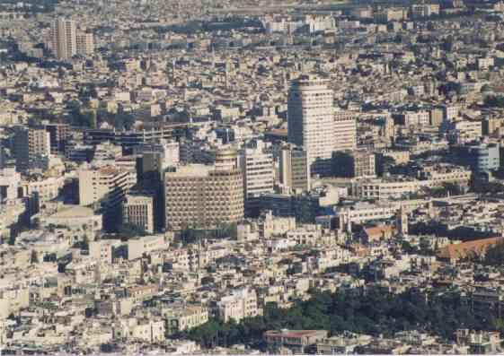 Damasco capital s ria sofre bombardeio oriente m dia - Fotos de damasco ...