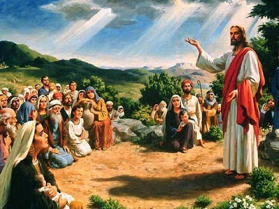 Resultado de imagen de Cristo predica